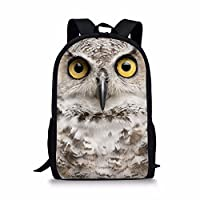 Coloranimal Fashion 3D Zoo Animal Printing Children School Bags