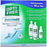 OPTI-FREE PUREMOIST PACK 2X300ML Y 1X90ML