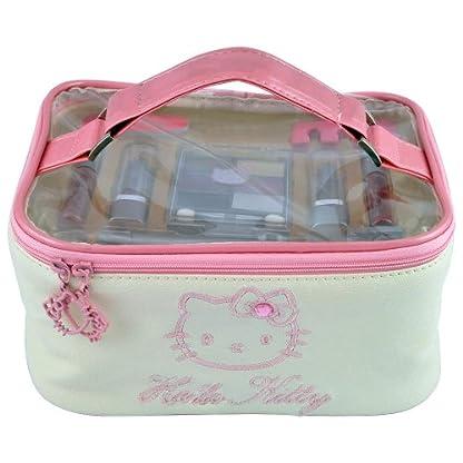 Hello Kitty HK.0013.08 – Neceser de maquillaje, 15 piezas