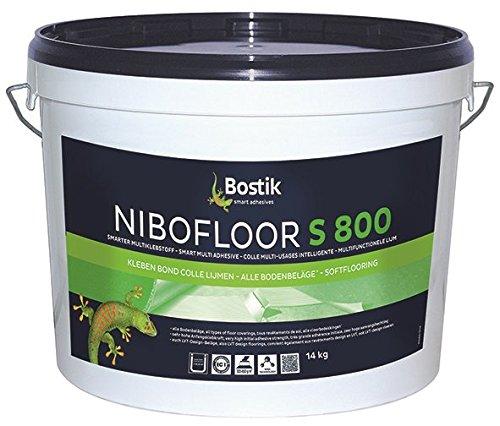 Bostik Nibofloor S 800 Multiklebstoff Bodenbelag Dispersionsklebstoff 22.0kg Eimer