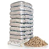 PALIGO Holzpellets ENplusA1 DINplus Wood HQ Pellet Öko Energie Heizung Kessel Sackware 6mm 15kg x 20 Sack 300kg / 1 Palette Heizfuxx