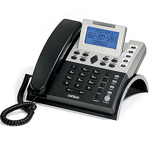 Cortelco (ITT-1220) 2-Line Business Telephone with CID and Adjustable LCD by Cortelco Cid Lcd