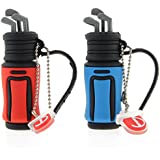 USB Stick Golftasche Golfschläger Golf (8 GB, Rot)