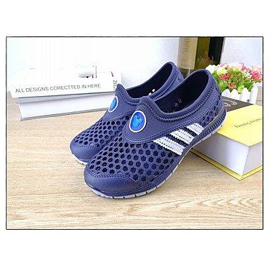 LQXZM Unisex pantofole & amp; flip-flops Comfort PU Casual molla blu royal kaki arrossendo rosa grigio blu scuro Flat Dark Blue