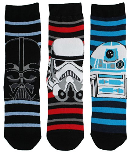 Disney Character 3 er-Pack Baumwoll-Socken Star Wars (Mädchen Aus Star Wars)