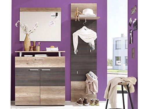 Garderobe komplett Garderobe Garderobenset Flur Diele Möbel Schrank