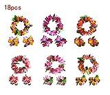 Good Night Hawaii Blume Leis Kränze Stirnband Armbänder für Sommer-Party-Dekorationen