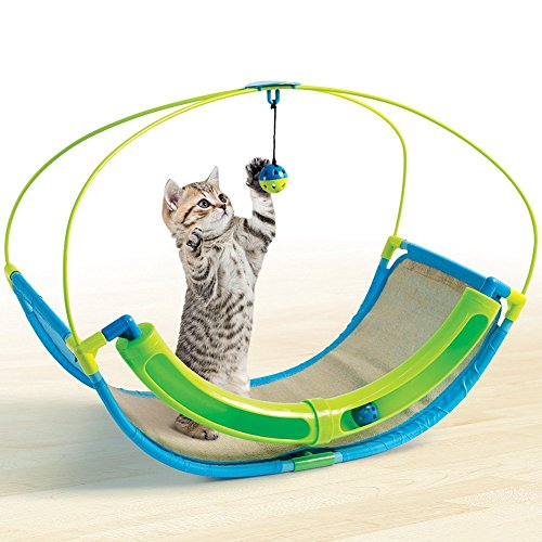 Pet Parade  Cat Swing Toy - Claw Pads e Clochette Balls