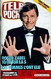 TELE POCHE [No 1050] du 24/03/1986 - JOSE TOURE - ROGER ZABEL.