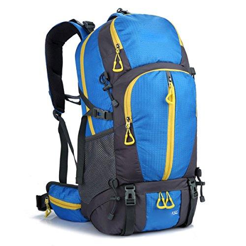 Outdoor Großraum Bergsteigen Rucksack Reise Rucksack,Black Blue