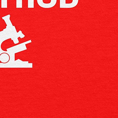 TEXLAB -  Felpa con cappuccio  - Collo a U  - Maniche lunghe  - Uomo Rot