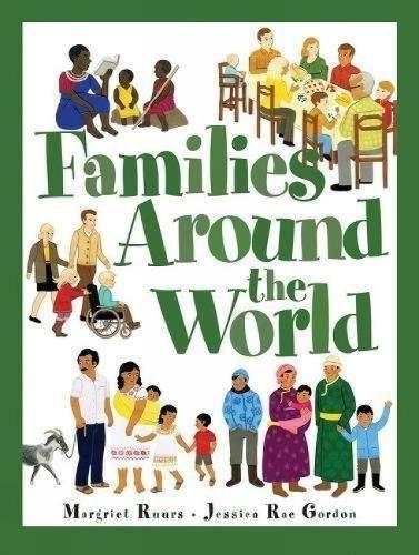 Families Around The World por Margriet Ruurs