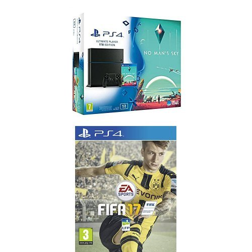 Pack PS4 1 To + No Man's Sky + Fifa 17
