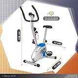TechFit Velocity Magnetisches Fitness Fahrrad Ergometer - Cardio - Fitnessfahrrad mit einstellbarem Sattel, Puls-Sensoren und LCDMonitor. Resistenter Heimtrainer für die perfekte Figur. für TechFit Velocity Magnetisches Fitness Fahrrad Ergometer - Cardio - Fitnessfahrrad mit einstellbarem Sattel, Puls-Sensoren und LCDMonitor. Resistenter Heimtrainer für die perfekte Figur.