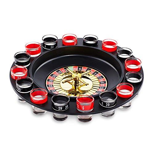 Paladone Shot Roulette - Ruleta de chupitos (vasos incluidos)