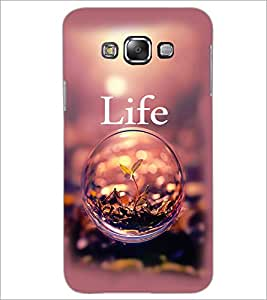 PrintDhaba Quote D-2338 Back Case Cover for SAMSUNG GALAXY A8 (Multi-Coloured)