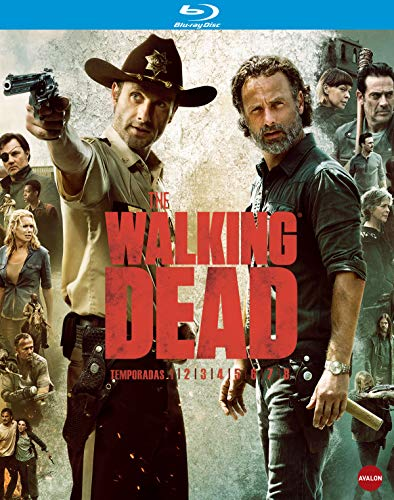 The Walking Dead  (1ª a 8ª temporadas) - BD [Blu-ray]
