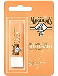 Le Petit Marseillais Soin Lèvres Sublimant Huile Abricot Nacres Bâton de 4,9 g