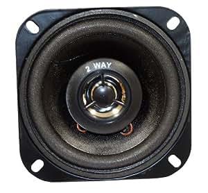 AERZETIX: Haut-parleur enceinte 2 voies 10cm 10W 100W pour auto voiture utilitaire