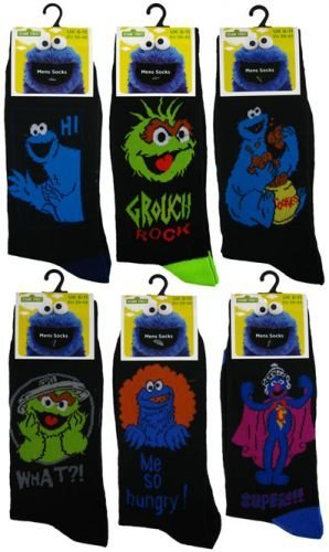 Six-Pairs-Mens-Official-Licenced-CHARACTER-Novelty-Socks-UK-6-11-Eur-39-45