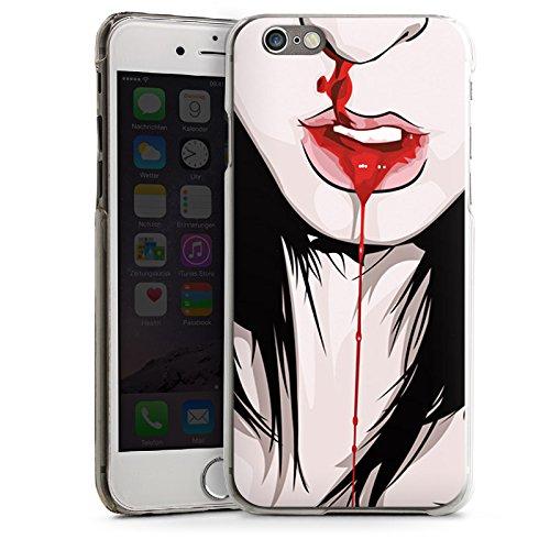 Apple iPhone 5 Housse Étui Silicone Coque Protection Nez Saigner du nez Fille CasDur transparent