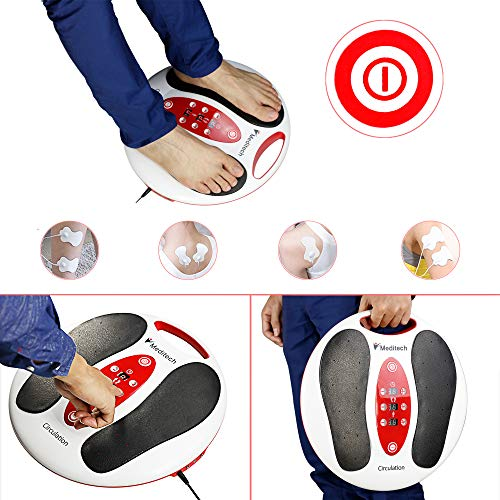 Lsnisni électromagnétique Massage des pieds, 25 modes de massage, 99 intensités réglables, 4 pour le corps, soins des pieds et relaxation du... 6