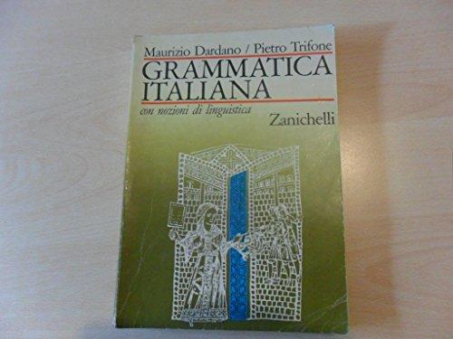 GRAMMATICA ITALIANA con nozioni di linguistica.
