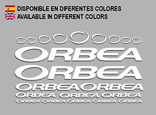 Ecoshirt 3K-PJVS-4NQJ Pegatinas Orbea F208 Stickers