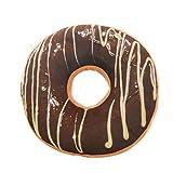Barbarer Donut Kissen Weich Plüsch Microvelour Dekokissen (A)