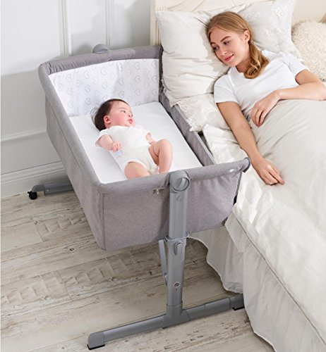 STAR iBaby – Kinderbett, Co-Sleeping, dimmbar 6 aturas, neigbar