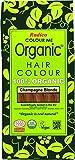 RADICO Coloration pour cheveux biologique - Colour Me Organic - Couleur - Blond champagne - Champagne Blond - 100g