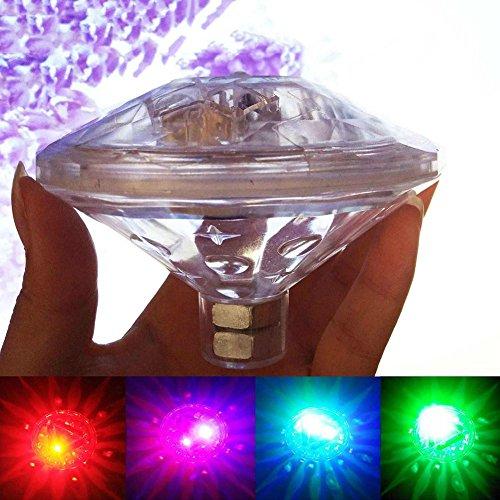 Preisvergleich Produktbild Wasserdichte LED Unterwasser Licht Schwimmbad Licht Sieben Farben Wasser Drifting Lampe für Aquarium Teich Pool