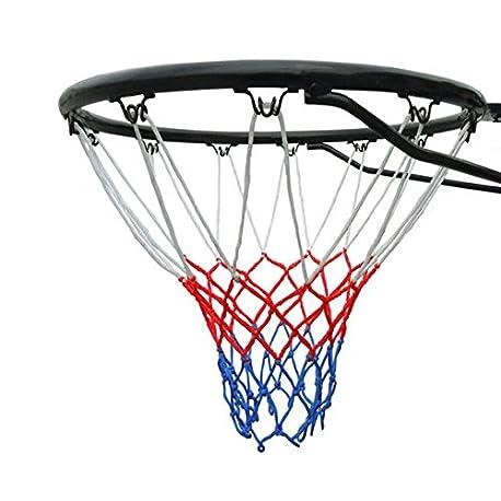 Tama o oficial 45 cm anillo de baloncesto aro red y montaje en la pared fijaciones Adecuado para adultos y ni os