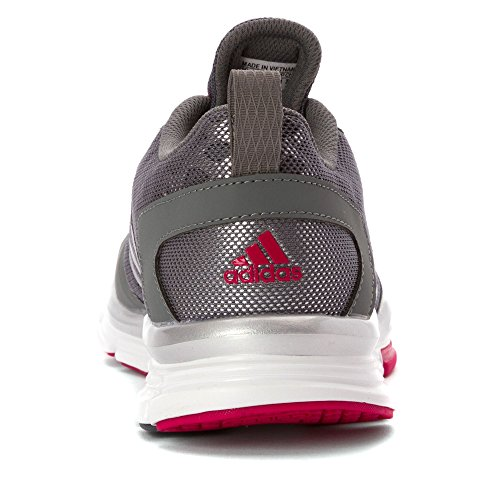 Adidas Performance Speed â??â??Trainer 2 W Calzature, nero / Metallic carbonio / bianco, 5 M Us Gray/Pink