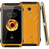 homtom Ht20Outdoor Smartphone–4g FDD-LTE sans traité 4.7Android 6.0Quad Core 2Go RAM + 16Go ROM 8MP Appareil photo Fingerprint Capteur IP68Waterproof Pompe à ShockProof pour, Orange