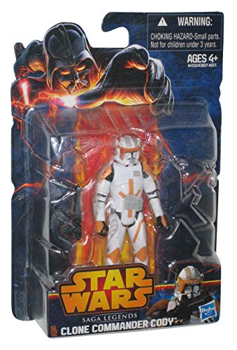 Hasbro Clone Wars Commander Cody SL12 - Star Wars Saga Legends 2014  (Cody Star Wars)