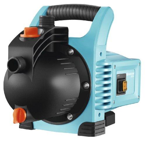 *GARDENA Gartenpumpe Classic 3000/4: Bewässerungspumpe für den Einsatz im Freien, mit 3100 l/h Fördermenge, geräuscharm und langlebig, mit Wasser-Ablassschraube, wartungsfrei, hohe Saugkraft (1707-20)*