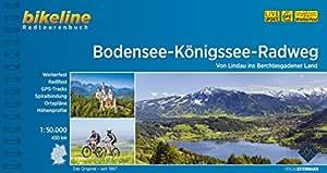 Bikeline: Bodensee-Königssee-Radweg. Von Lindau ins Berchtesgadener Land, wetterfest/reißfest