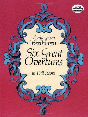 Six Great Overtures in Full Score (Dover Music Scores)