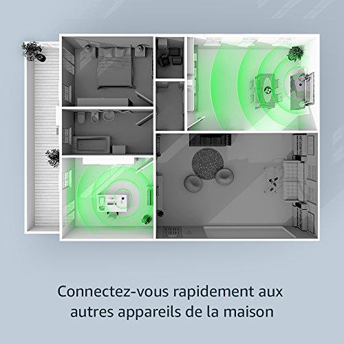 51tvyY0pgtL [Bon Plan Netatmo] Amazon Echo (2ème génération), Tissu gris chiné + Thermostat Connecté Netatmo by Starck