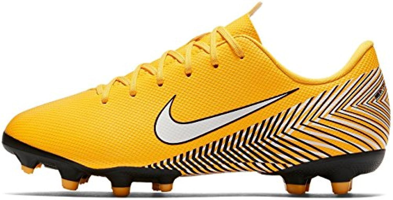 Nike Jr Vpr 12 Academy GS NJR FG/MG, Zapatillas de Deporte Unisex Adulto, Multicolor (Amarillo/White/Dynamic Yellow...