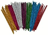 Nai-Style Glitter Pfeifenreiniger Chenille Craft...