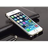 esorio® Apple iPhone 5 5S SE Hülle Metall Bumper in schwarz