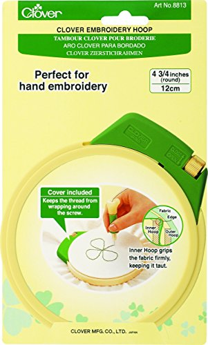 Plastic Embroidery Stitching Hoop 4-3/4