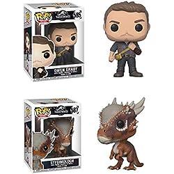 Funko POP! Jurassic Park: Owen + Stygimoloch