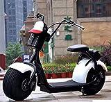 OOBY Q1 Harley Moto Électrique Scooter Adulte-Plusieurs Couleurs À Choisir-20A,Mixedcolor