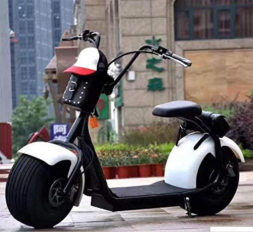 OOBY Q1 Harley Electric Scooter Motocicleta para Adultos Elegir-20A,Mixedcolor