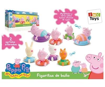IMC TOYS 715098 - Peppa Pig Figuritas Para El Baño de IMC TOYS