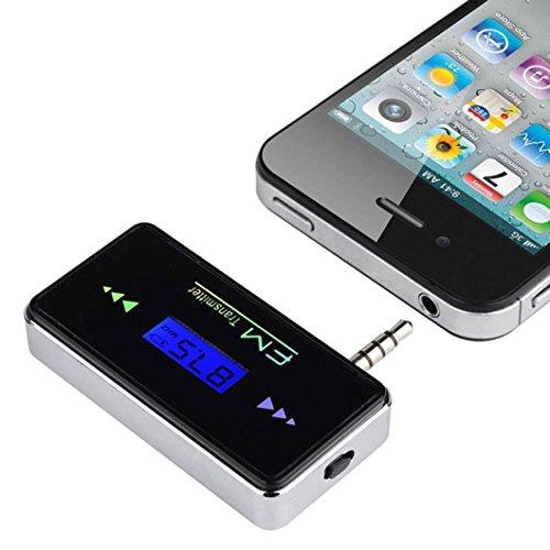 Preisvergleich Produktbild Omiky® Mode 2017 Wireless In-Car FM Transmitter 3.5mm Radio Adapter für iPhone 6/6 Plus / 5 / 5S / 5C Für Samsung Für HTC