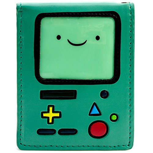 Cartoon Network Adventure Time BMO Grün Portemonnaie (Bmo Kinder Für Kostüm)